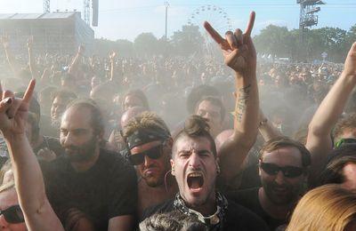 Hellfest: le site du festival de métal vandalisé