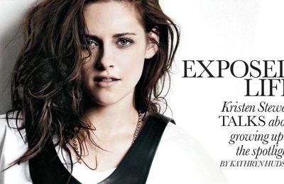 Kristen Stewart in Elle Canada
