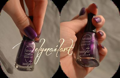[ SWATCH ] Fashion make up N°23 violet
