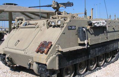 Le Maroc a reçu un troisième lot de matériel militaire américain, des blindés M113