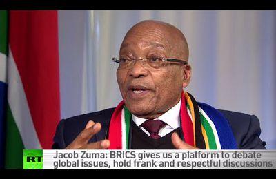 """""""Nous ne voulons pas que les occidentaux nous dictent quoi faire"""" affirme le président sud-africain (Russia Today)"""