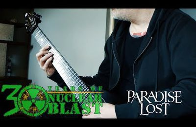 Video de PARADISE LOST en studio pour Medusa