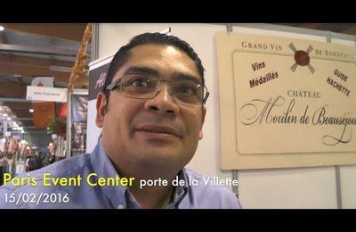 #Sagasdom2016 / Olivier Cadarbacasse, viticulteur réunionnais dans le Bordelais