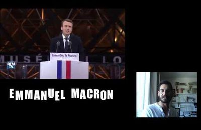 Emmanuel Macron et la Programmation neuro-linguistique