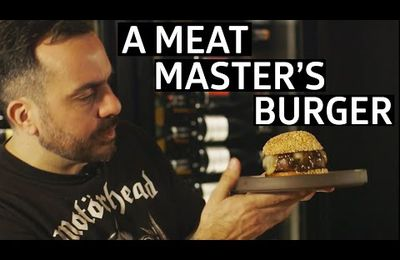 How Does One Of The Best Chef's In The World Make A Burger?