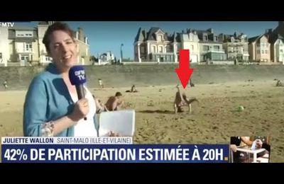 Législatives : festival de roulades à Saint-Malo