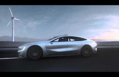 Les chinois lancent un véhicule électrique autonome Leeco Lesee