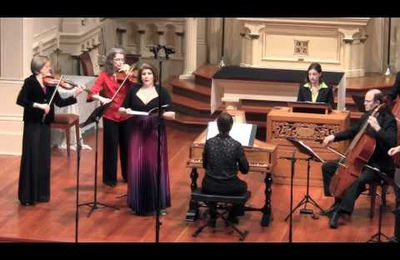 Handel Gloria: Et in Terra Pax. Voices of Music, Laura Heimes, soprano