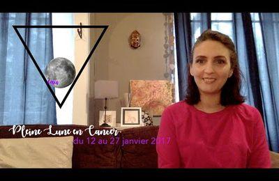 Énergies astrologiques du 12 au 27 janvier 2017 : Pleine Lune Cancer