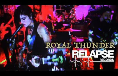 ROYAL THUNDER video posted on YouTube