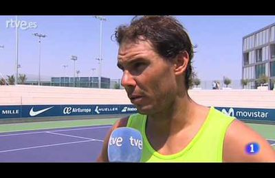 Vidéo TVE - par Rafael Nadal King of Tennis - Interview