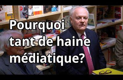 F.Asselineau - Pourquoi tant de haine médiatique?