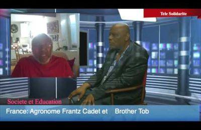 Télé Solidarité. Entretien avec l'agronome Frantz Cadet