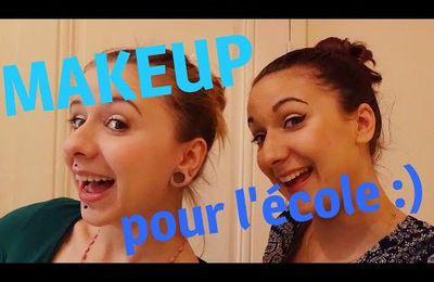 Comment se maquiller pour aller en cours? Maquillage spécial ADO !