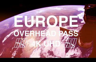 L'Europe depuis l'espace en 4K