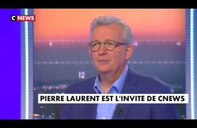 Pierre Laurent - CNews - 12/06/17