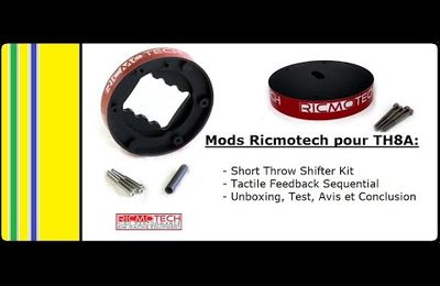 Review des mods TH8 de Ricmotech par MagikAyrton
