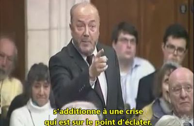 George Galloway au Parlement britannique : Palestine, 47 ans d'occupation !