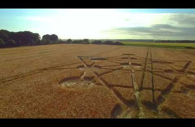 Badbury Rings CROP CIRCLE 16.6.2017 4k60p