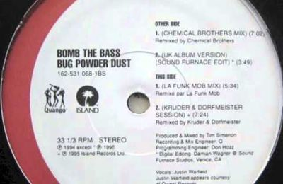 One track a day: BUG POWDER DUST by Bomb The Bass