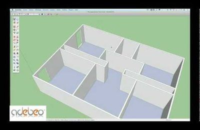 tuto sketchup outils pousser tirer