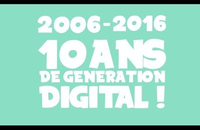 VIDEO - MOTION DESIGN - 2006-2016 : 10 ANS DE GÉNÉRATION DIGITALE