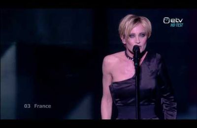 Patricia Kaas Et s'il fallait le faire LIVE performance final Eurovision Song Contest 2009 France