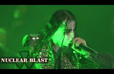 "DIMMU BORGIR s'apprete à sortir un DVD live : Extrait video ""Mourning palace"""