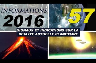 57º ALCYON PLÉIADES VIDEO INFORMATIONS 2016