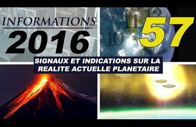 57º ALCYON PLÉIADES VIDEO INFORMATIONS 2016