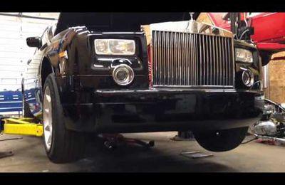 [Vidéo] Voici le son d'une Rolls Royce Phantom sans silencieux