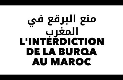 L'interdiction de la vente de la burqa au Maroc