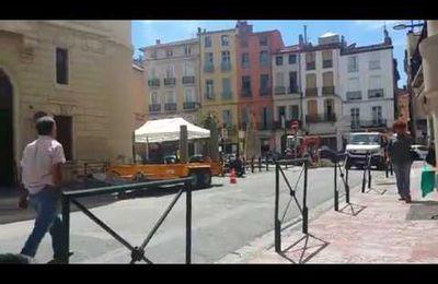 Perpignan: quand les travaux permanents contribuent à l'achévement des commerces et du bien vivre au centre ville! par Nicolas Caudeville