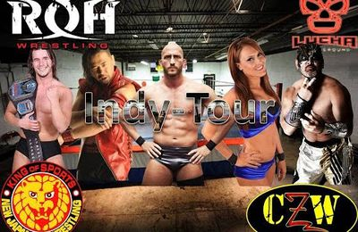 INDY-TOUR 15 AOUT 2015 : CZW RETRIBUTION-PATRICK CLARK-TOMMY DREAMER