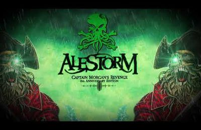 Nouvelle lyrics video d'ALESTORM Captain Morgan's Revenge