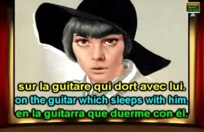 Mireille Mathieu - Blue Bayou (En francés) (Subtítulos / Paroles / Lyrics )