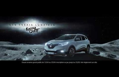 Quand Renault Kadjar vous emmène sur la lune...