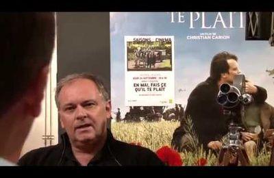 """En Mai fait ce qu'il te plait, en Septembre sort ton film """"Mon Garçon"""" : Christian Carion"""