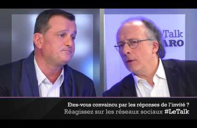 Louis Aliot invité du Talk-Le Figaro
