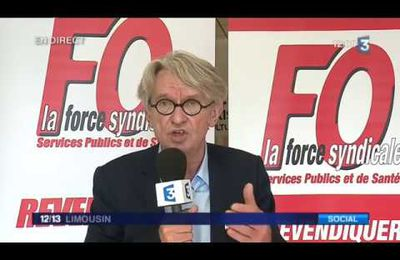"Jean-Claude Mailly : ""Il y a un sentiment d'injustice dans le pays"""