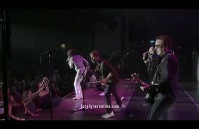"""Juke box hero"" video from FOREIGNER"