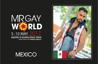 Mister Gay World 2017 Delegate - Mexico