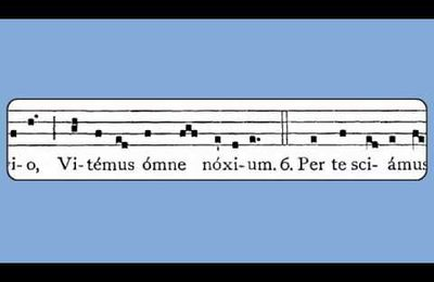 VENI CREATOR SPIRITUS  (hymne des vêpres de pentecôte )