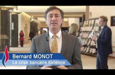 Bernard Monot présente le Bulletin économique du Front National - 15/07/2016