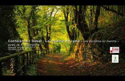 Lyme - Conférence du Pr Perronne en Creuse 14 oct 2017