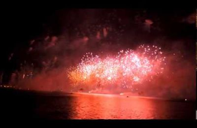Fireworks - Qatar National Day 18 Dec 2014‏