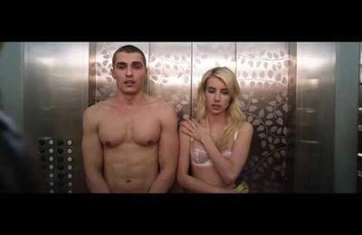 Emma Roberts et Dave Franco en petite tenue relèvent le défi !
