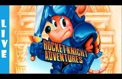 Megadrive - Rocket Knight Adventures