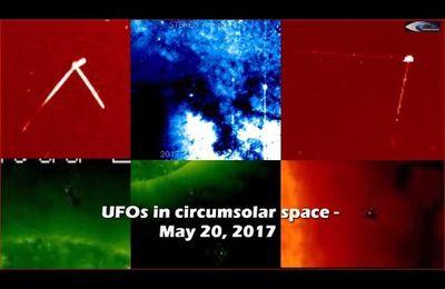 Ovnis & anomalies près du soleil le 21/05/2017 (video)