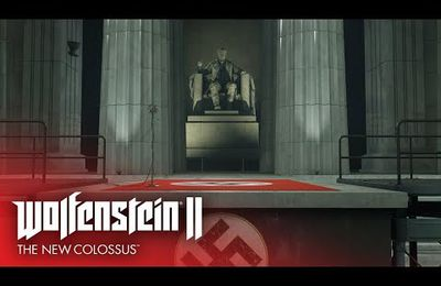 ACTUALITE :  #Wolfenstein2TheNewColossus dévoile son #LaunchTrailer